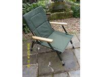 Height Adjustable Fishing Chair - Unused.