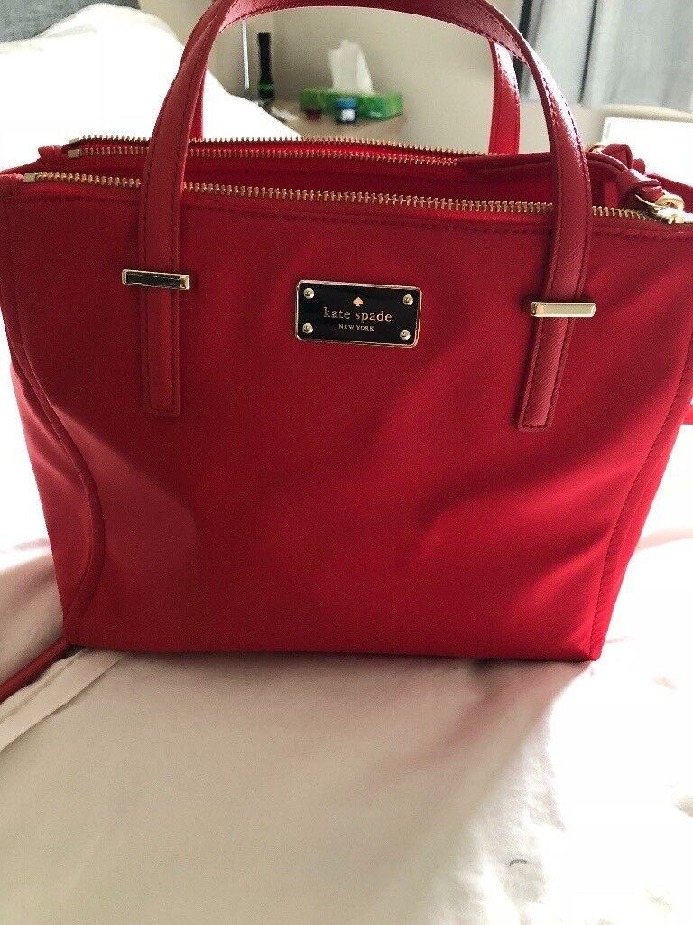 Kate Spade 2018 Red Handbag In Borrowstounness Falkirk Gumtree