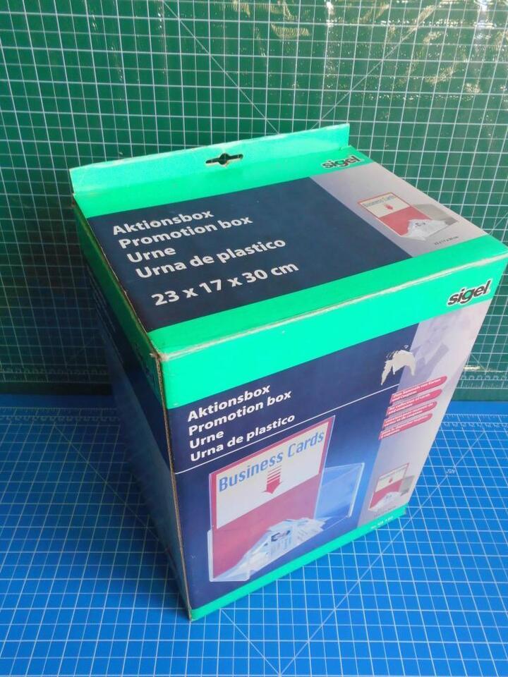 Sigel Aktionsbox Va 150 Visitenkartenbox Gewinn Coupons Box