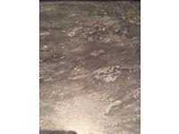 BRAND NEW UNUSED 3 metre long Howdens Evora Kitchen Worktop - Grey Slate