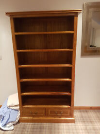 Marks & Spencer Mahogany Book Case for sale.