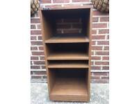retro Wooden hifi cabinet