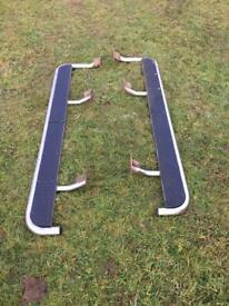 Vauxhall Frontera Stainless Steel side steps !!!
