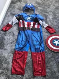 Captain America costume 8-9