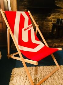 Pair of Fanatic deck chairs