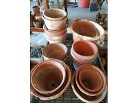Vintage terraccotta pots - Sankey Bulwell