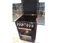 Stoves mini range electric double fan oven ceramic hob 3 yrs old 2 year transferable warranty.