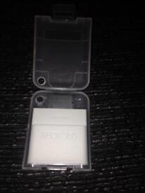 Xbox 360 64mb memory card and case