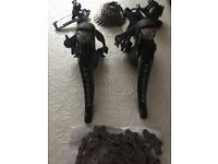 Ultegra 6800 Shifters, brakes, gears and cassette (New / not used)