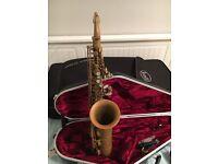 Yanagisawa Bronze Unlacquered Alto Saxophone A992U