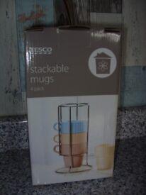 Stacker mugs