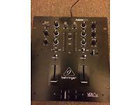 Behringer NOX101 2 Channel DJ Mixer - Excellent Condition