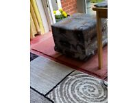 3 seater and 2 chairs and footstool £80 b26