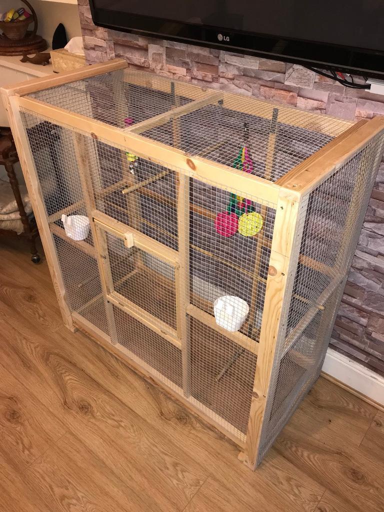 Custom Made Bird Parrot Cage In Stoke Newington London