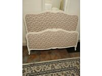 Beautiful Vintage French Capitonne Bed