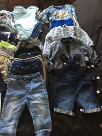 Baby boy bundle 12-18 months
