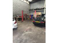 Garage unit for rent in Kirkcaldy