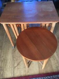 Nest of 4 tables SOLD