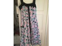 Size 10 hell bunny dress