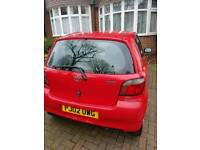 Toyota yaris 2002 Red 1.00