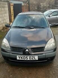 Renault clio 1.2 cheap car