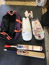 Cricket Set -Bats and Pads