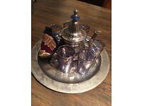 Moroccan/Arabic tea set