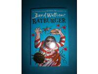 David Walliams Ratburger Paperback Book IP1