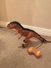 Walking, Roaring, Light Up Dinosaur