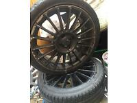 Ford fiesta st alloys with good tyres