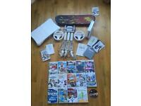 Wii bundle console, controllers, boards and games