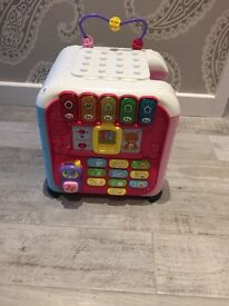 Vtech Activity Cube for Baby / Toddler in Pink