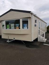 2 Bedroom, Double Glazed, Central Heated Static Caravan. Craig Tara, Ayr Haven Holiday Home Sales