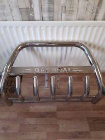 Qashqai front nudge bar chrome