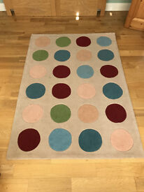 Great Little Trading Company Extra Large Polka Dot Rugs (2)