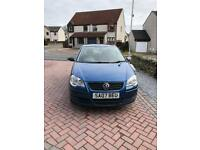 2007 Blue Volkswagen Polo 1.2L, 3 door