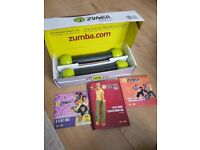 Zumba DVDs and toning sticks