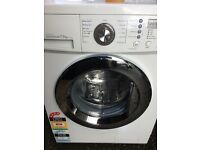 Washing machine LG 7.5 kg load 1300 spin