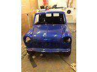 Mini van Un-finished project //Mini //Austin//Morris//1275