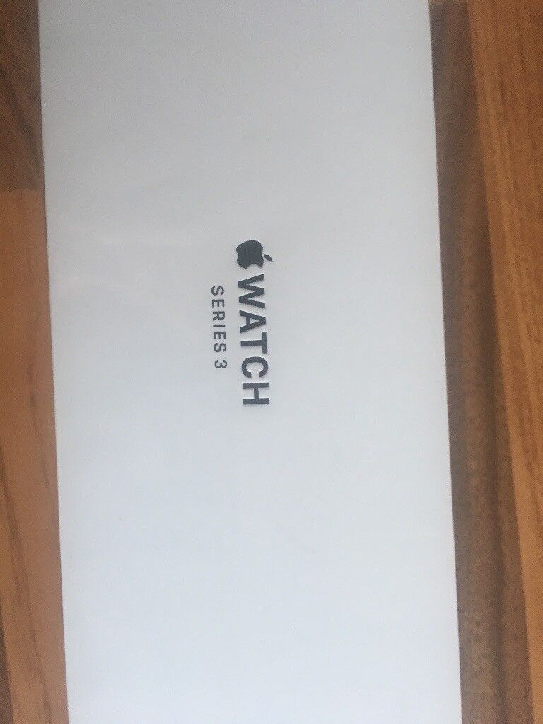 Apple Watch Series 3 38mm Space Grey Aluminium Sports Band