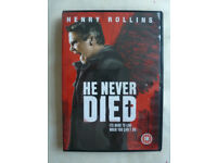 HE NEVER DIED DVD