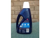 Two 1.5 ltr Bottles of Bissell 1065E Wash and Protect & Odour Carpet Cleaner