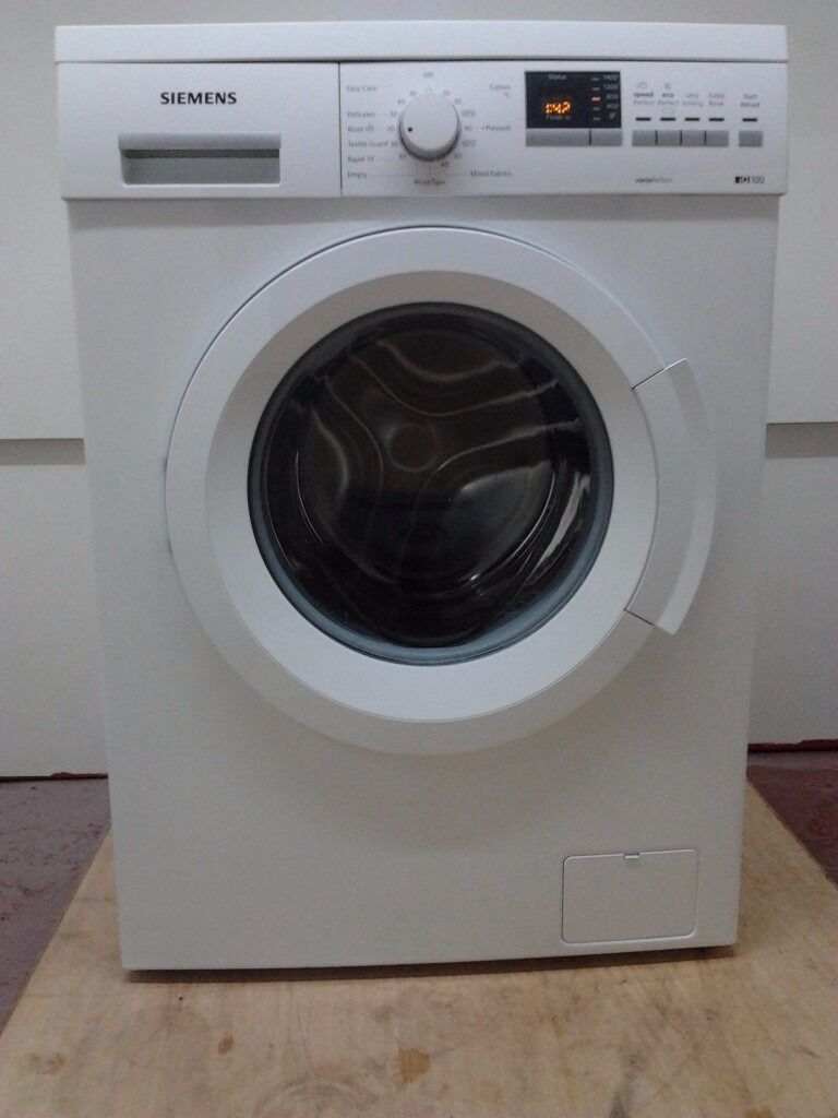 siemens iq 100 vario perfect washing machine model wm14q360gb in salisbury wiltshire gumtree. Black Bedroom Furniture Sets. Home Design Ideas