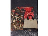 Bags various prices see description Cath Kidston, Radley & boss priced individually from £5 to £15