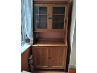 Ikea leksvik cabinet with glass doors