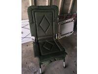 Fishing chair telescopic legs