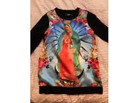 Iron fist like a virgin halo floral jumper