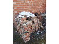 Free bricks suitable for hardcore etc.