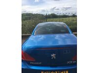 Peugeot 307 cc Convertible. Starts and drives perfectly