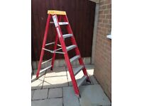 High quality class 1 grade step ladders.